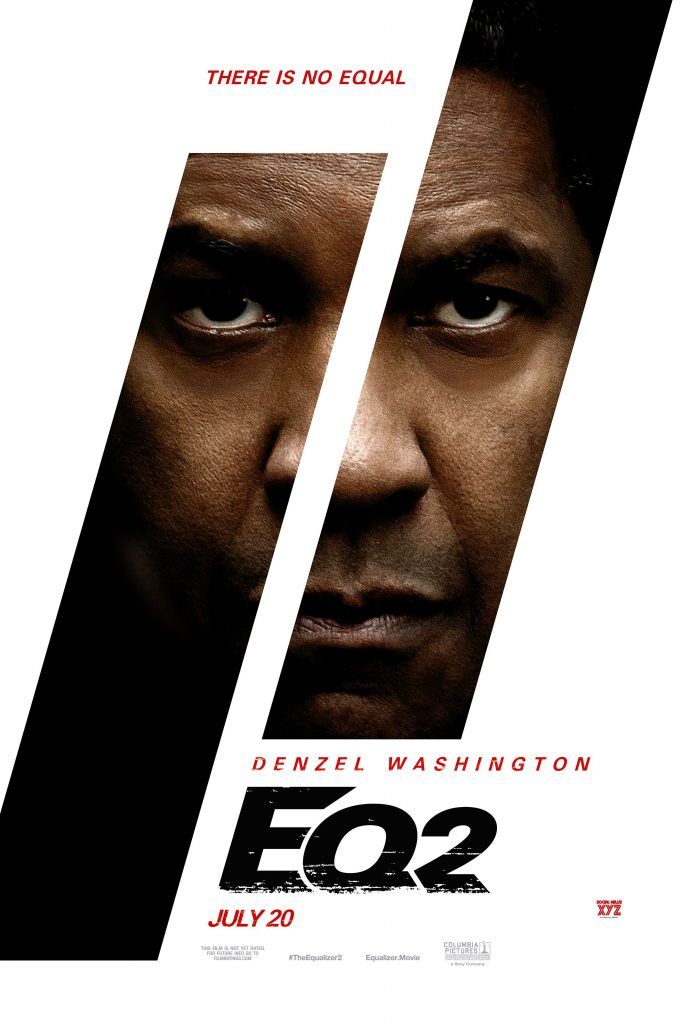 equalizer 2 - eq2 - large movie poster - HD 4k - 1080p - 2699x4000 - overnightprints