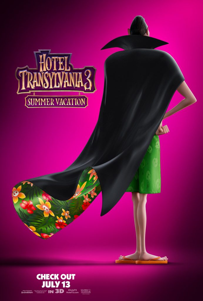 hotel transylvania 3 - 1382x2048 HD 1080p - 4k large movie poster - overnightprints