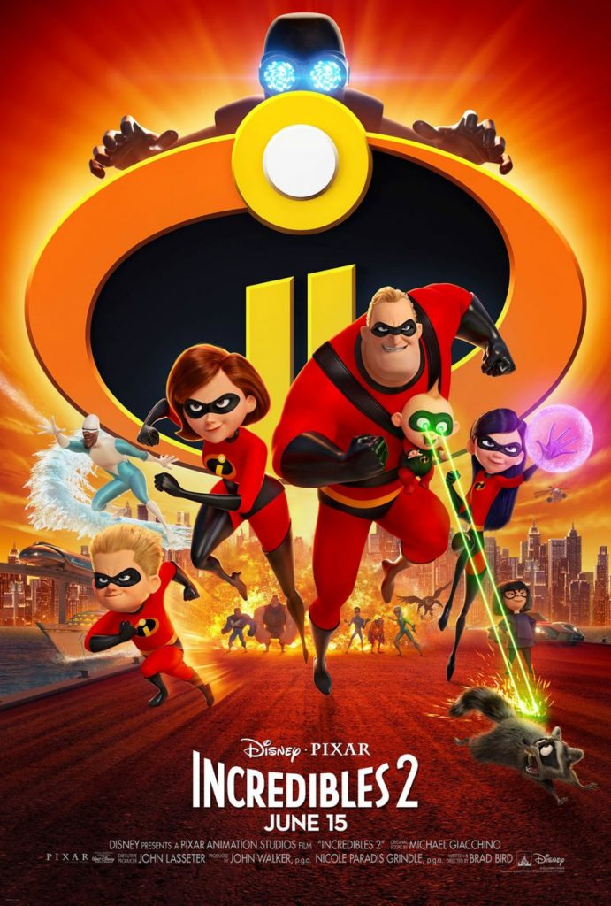incredibles 2 - movie poster large hd - 1080p - 4k - overnightprints
