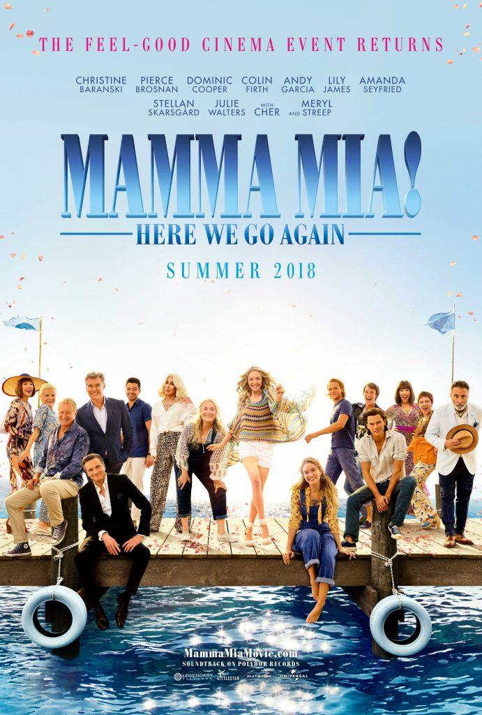 mamma mia: here we go again movie poster large - 1080p hd - 4k - 2023x3000 - overnightprints