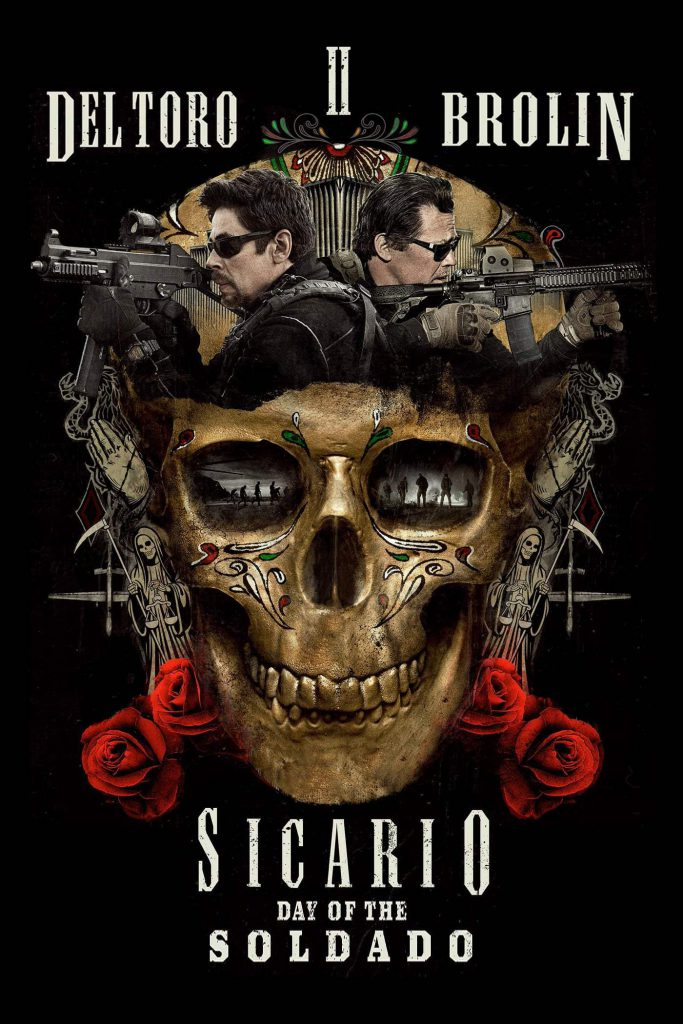 sicario ii - day of the sicario - large hd poster - 4k - 1400x2100 - overnightprints