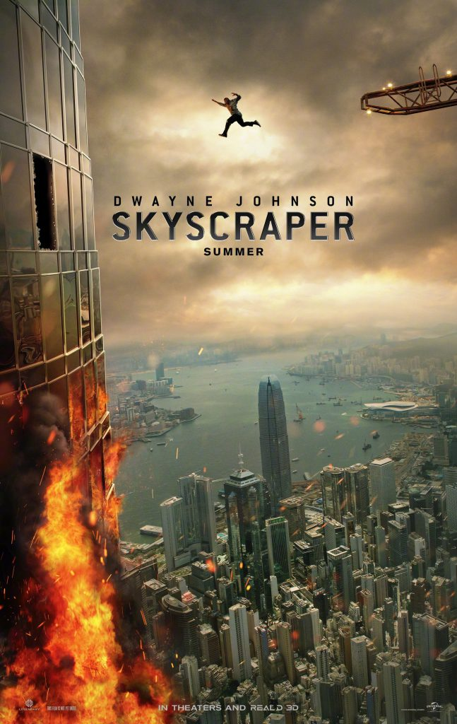 skyscraper - 1080p hd 4k - 2021x3200 - summer movie poster large - overnightprints
