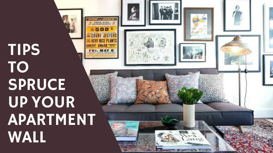 Tips for decorating your apartment or home walls