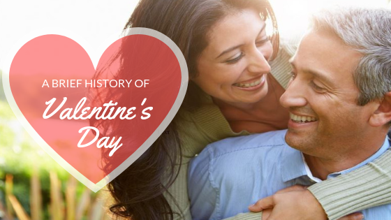 st valentine's day history at Overnight Prints
